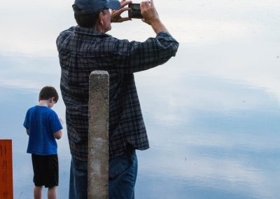 Taking a picture of Dad taking a picture