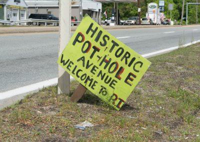 Historic pothole avenue